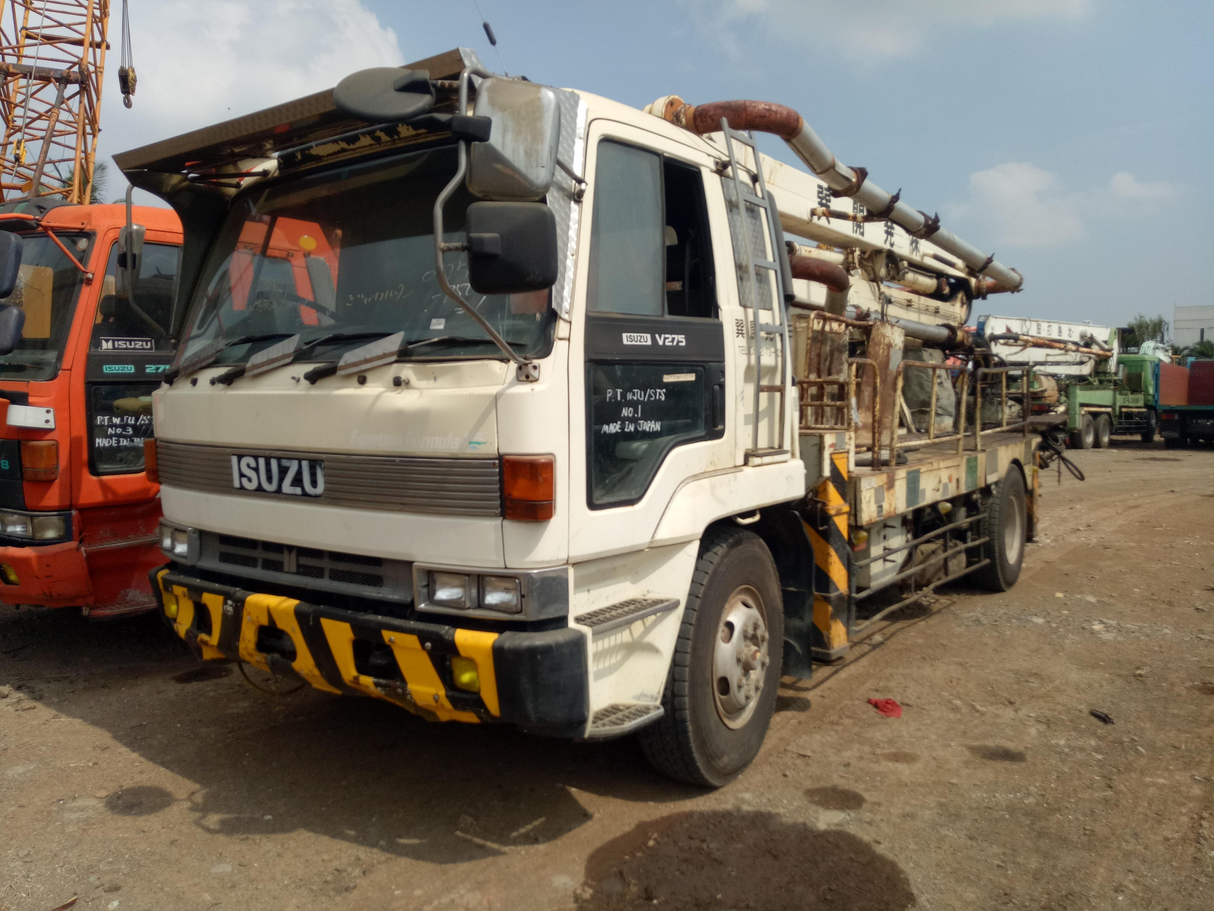 Sell Concrete Pump Truck IHI IPF110B-8E21 21 Meter Boom Build Up EX JAPAN!  from Indonesia by PT  Total Solution Machinery,Cheap Price