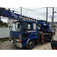 Hydraulic Truck Crane KATO NK75MV Kap 5 Ton EX JAPAN! 1