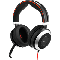Office Headset Evolve 80 Jabra 1
