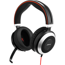 Office Headset Evolve 80 Jabra