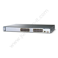 Switch Cisco WS-C3750-24TS-E (Refurbish)