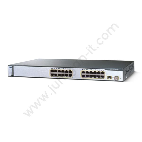 Switch Cisco WS-C3750-24TS-E (Refurbish)