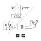 IP Phone Yealink SIP-T19 E2 2