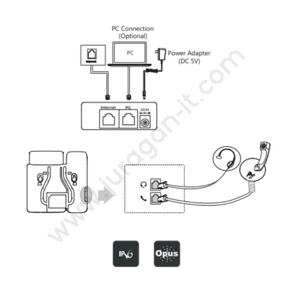 IP Phone Yealink SIP-T19 E2