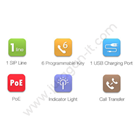 IP Phone Fanvil H3 2