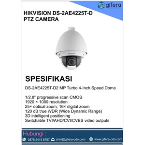 Dari CCTV DS-2AE4225T-D 0