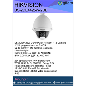Dari CCTV PTZ HIKVISION DS-2DE4425W-2DE 0