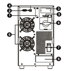 EMMERICH UPS Compact Pro ER 10 Backup Time 8-10 Minutes CMP10ER 3