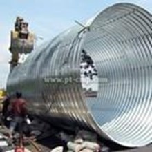 Corrugated Steel Type Multi Plate Pipe