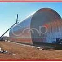 Corrugated Steel Type Multi Plate Horseshoe