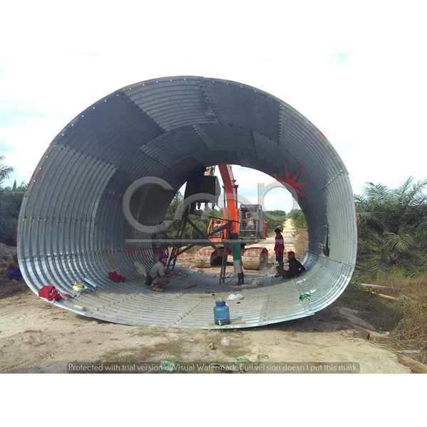 Multi Plate Underpass Murah
