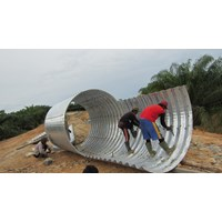 Multi Plate Pipe Arches murah
