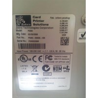 Jual PRINTER ID CARD ZEBRA P 330I 2
