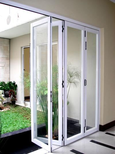 Sell Folding Doors Glass Aluminum From Indonesia By