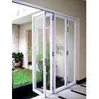 Pintu Folding Kaca Aluminium 1