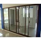 Pintu Folding Kaca Aluminium 4