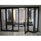 Pintu Folding Kaca Aluminium 6