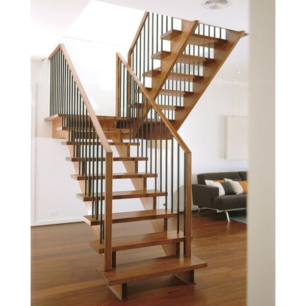 Wooden Staircase Handrail