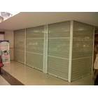Rolling Door One Sheet Semi Perforated 2