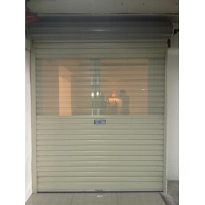 Rolling Door One Sheet Semi Perforated & Sell Rolling Door One Sheet Semi Perforated from Indonesia by ...