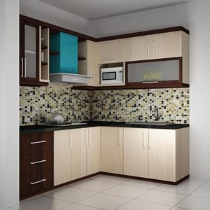 HPL Pelapis Kitchen Set