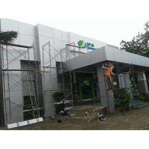 Pemasangan Alumunium Composite Panel By Renovasi Medan