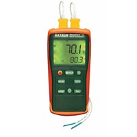 Thermocouple Thermometer Dual Input - Extech EA10