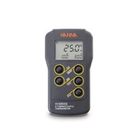Jual Thermocouple Thermometer type K Dual Channel - Hanna HI935002