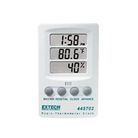 Hygro Thermometer Clock - Extech 445702 1