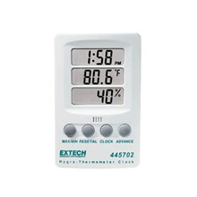 Hygro Thermometer Clock - Extech 445702