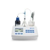 Mini Titrator for Measuring Titratable Acidity in Fruit Juice – Hanna Hi84532-01
