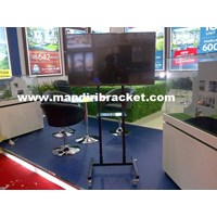 Jual Braket TV Stand hollo mini Series 2tiang