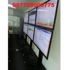O81297888775 Bracket Tv Standing Dua tv kanan kiri  9