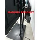Bracket tv Standing Khusu tv Berat Model Custom 60inch 100inch  7