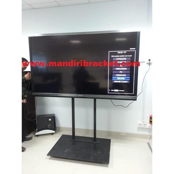 Bracket tv Standing Khusu tv Berat Model Custom 60inch 100inch