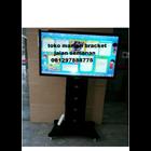 Bracket tv Standing custom tiang lebar (model plat kupu kupu )  5
