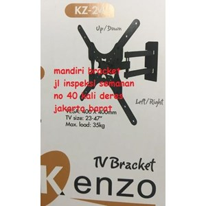 Dari BRACKET TV LED LCD PLASMA MONITOR TV KENZO KZ 24 BISA MEMUTAR 180 DERAJAT 4