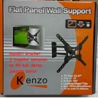 Braket tv  KENZO KZ 24 Bisa Memutar 180 Derajat  LED LCD PLASMA MONITOR TV