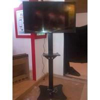Bracket tv  Standing Model Plat Kupu-Kupu Kuat & Kekar