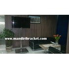 Bracket TV Standing LED stainless steel 1 Tiang Mirorr 4