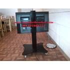 Bracket TV Floor Depan meja tinggi 70cm & 90cm 2