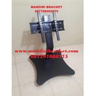 Jual Bracket TV Standing Tiang Pendek depan meja   2