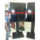 Bracket tv standing berdiri led 2tv tv atas bawah murah  8