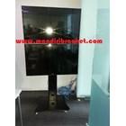 Bracket tv standing berdiri led 2tv tv atas bawah murah  4
