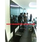 Bracket tv standing berdiri led 2tv tv atas bawah murah  6
