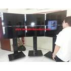 Bracket tv standing berdiri led 2tv tv atas bawah murah  9