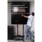 Bracket tv standing berdiri led 2tv tv atas bawah murah  2