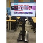 Standing berdiri Bracket TV led Plat kupu kupu  7