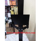 Standing berdiri Bracket TV led Plat kupu kupu  10
