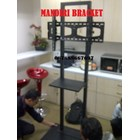 Tiang Bracket TV Stand Hollo 2 Tiang 5